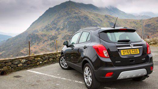 Opel vermarktet seine Modell in Großbritannien unter der Marke Vauxhall. Im Bild: der Vauxhall Mokka.