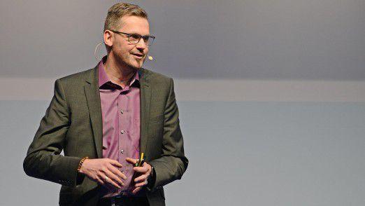 Referent Frank Ridder auf den Hamburger IT-Strategietagen