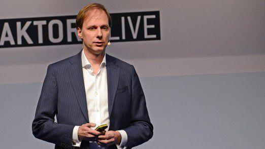 Armin Kress, Senior Enterprise Architect und Member of Global IS Management Office bei der Linde Group, sprach auf den Hamburger IT-Strategietagen.