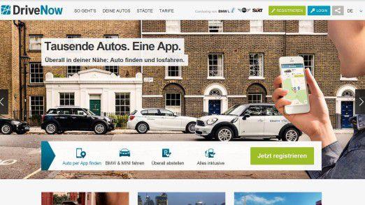 Der Carsharing-Dienst DriveNow (BMW/Sixt) baut zu den Kunden eine direkte digitale Beziehung auf, lobt Forrester.
