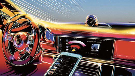 Mit neuen digitalen Services will Porsche mittelfristig einen zweistelligen Prozentsatz des Konzernumsatzes erwirtschaften.
