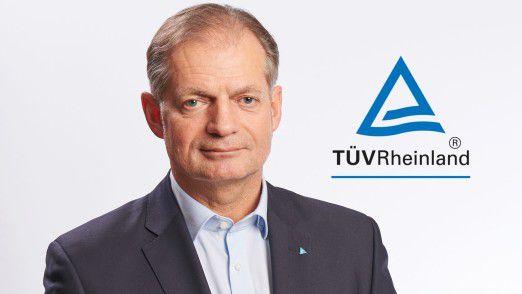 Rüdiger Hoppen vom TÜV Rheinland.