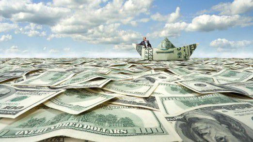 Unterwegs auf dem Geld-Meer: Die reichsten IT-Manager der Welt.