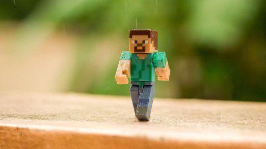 """Microsoft hatte """"Minecraft"""" vor rund zweieinhalb Jahren für 2,5 Milliarden Dollar gekauft. Das populäre Spiel ist vor allem wegen seiner simplen Klötzchen-Grafik bekannt."""