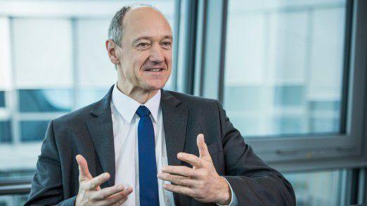Roland Busch, Technologievorstand der Siemens AG