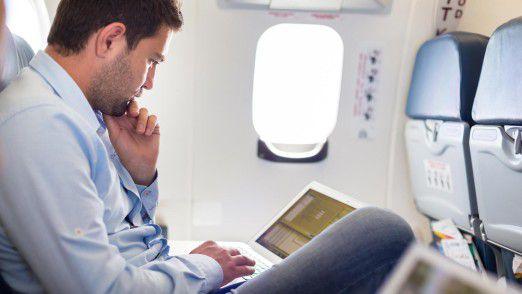 Vielflieger: Mobiles Arbeiten ist eine Form, die Möglichkeiten der Digitalisierung zu nutzen.