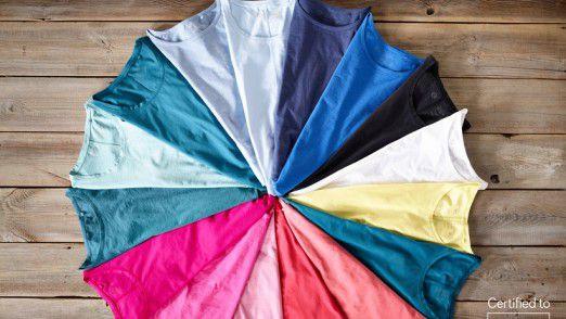 Das kompostierbares T-Shirt soll sieben bis neun Euro pro Stück kosten.