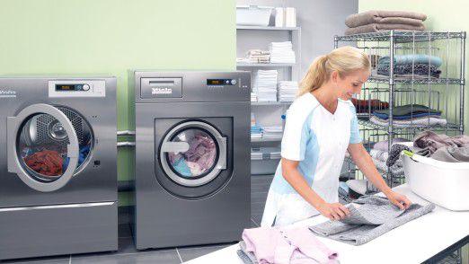Der Markenname Miele ist vor allem durch Waschmaschinen bekanntgeworden.