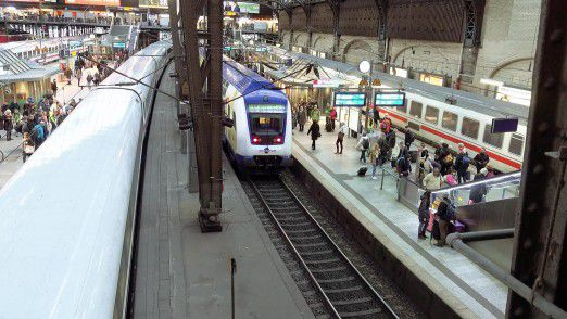 Das Testprojekt läuft am Berliner Bahnhof Südkreuz.