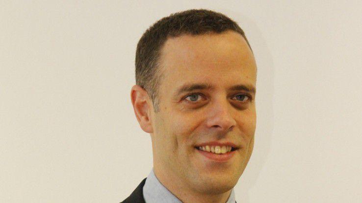 Markus Richter, BAMF, überzeugte die Jury mit seinem Projekt Asyl online.