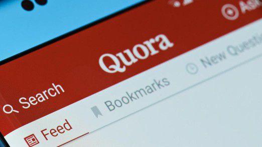 Quora basiert auf dem Fragen-Antworten-Prinzip.