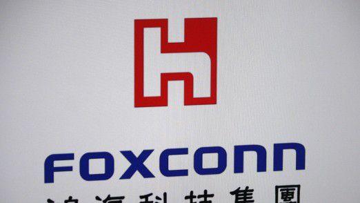 Foxconn plant ein Werk in den USA. Darin sollen Display-Panels für Fernseher und andere Geräte hergestellt werden.