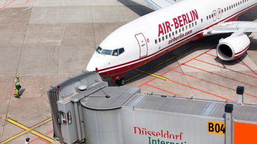 Bei Air Berlin gebe es viel Verwaltungs- und IT-Erfahrung, für die sich mittlerweile die Berliner Verwaltung interessiert.