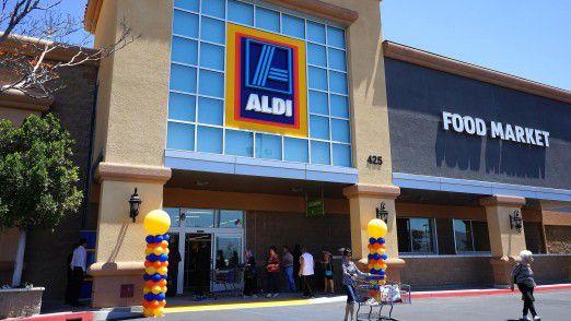 Aldi-Markt in Kalifornien.