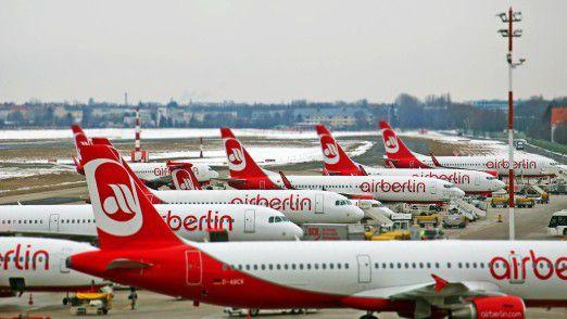 Homebase von Air Berlin: Flughafen Berlin Tegel