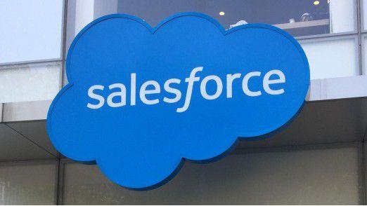Salesforce will Mulesoft übernehmen.