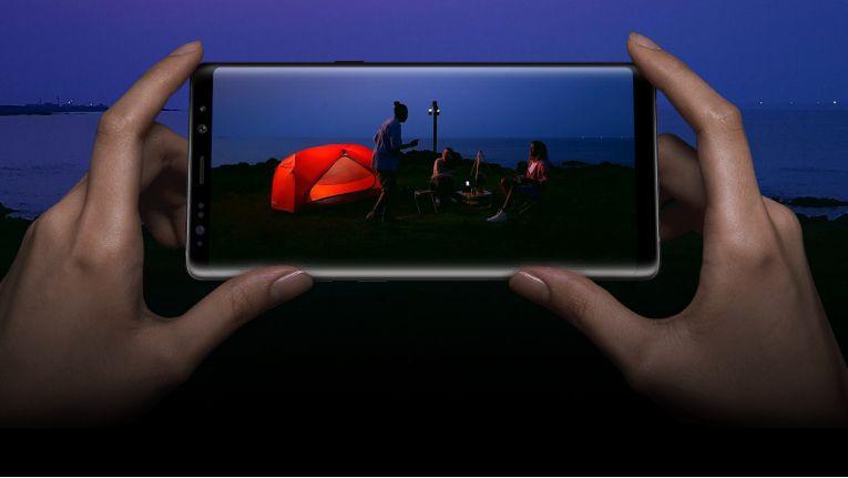 Das Samsung Note 8.