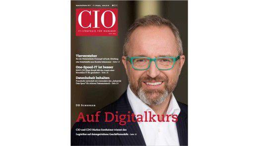 Das neue CIO-Magazin September/Oktober 2017.