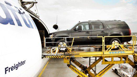 Luftfracht bei Lufthansa Cargo