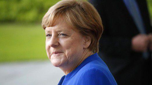 Bundeskanzlerin Merkel möchte den Handelsstreit entschärfen.