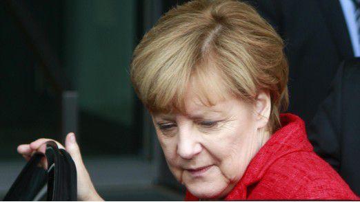 """""""Zurzeit gerät etwas ins Wanken, was wir als fast unveränderlich gesehen haben"""", sagte Bundeskanzlerin Angela Merkel."""