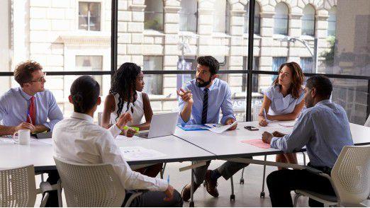 Bitte nicht alle durcheinander - ein Meeting braucht einen Gesprächsleiter.