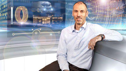Michael Neuheisel ist der neue Leiter für Digitale Lösungen Nutzfahrzeugreifen.