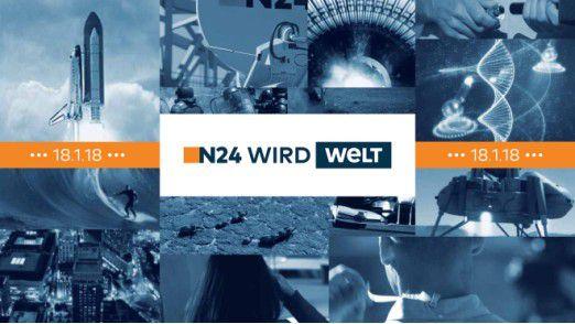 N24 bekommt einen neuen Namen.