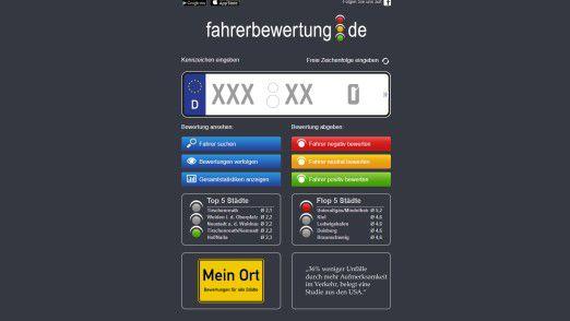 In seiner jetzigen Form ist das Autofahrerbewertungsportal fahrerbewertung.de laut OVG Münster illegal.