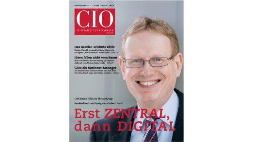 Das neue CIO-Magazin November/Dezember 2017.