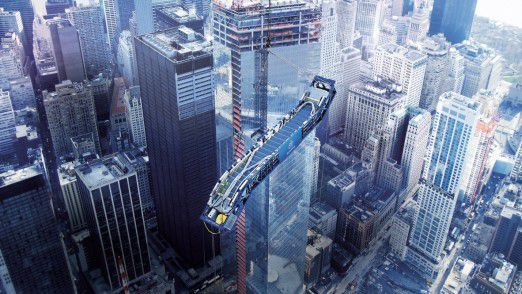 Rolltreppen von Thyssenkrupp wurden in das One World Trade Center in New York eingebaut.
