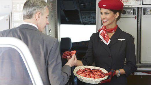 Air Berlin ist Geschichte. Das Schokoherz werden wir vermissen.