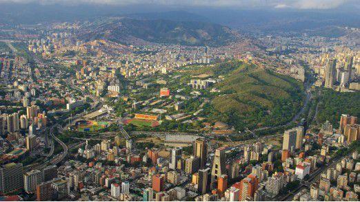 Caracas ist die Hauptstadt und zugleich die größte Stadt in Venezuela.