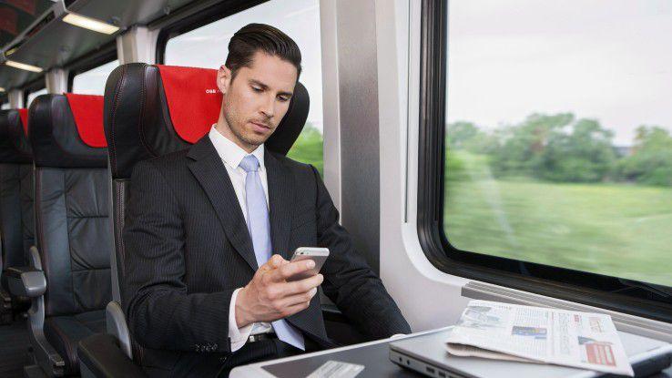 Reisende mit der österreichischen Bahn freuen sich, dass die WLAN-Nutzung mittlerweile selbstverständlich ist.