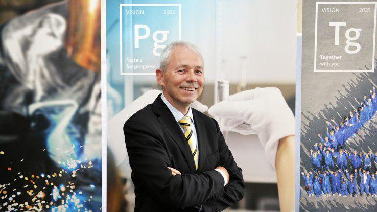 Andreas Schumann, 56, brachte IT und Fachabteilungen zusammen.