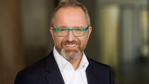 Markus Sontheimer verantwortet die digitale Transformation bei DB Schenker.