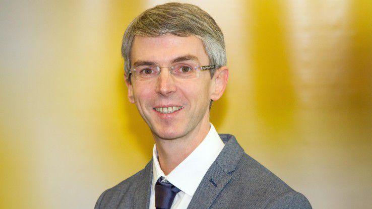 Marco Reich, Klinikum Forchheim, setzt voll auf agile Methoden.