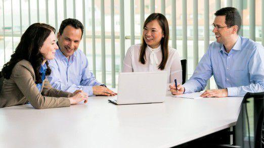 """Mit dem Projekt """"Next Generation Workplace"""" erreicht Bosch auf dem Weg zum weltweit vernetzten und agilen Unternehmen einen Meilenstein."""