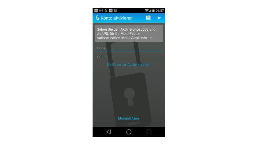 Was in Microsoft Azure funktioniert, soll auch in Windows 10 möglich sein: Zwei-Wege-uthentifizierung über PINs zu Smartphones.