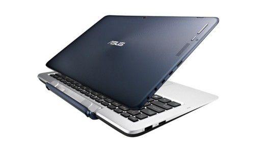 2in1-Geräte wie das Asus Transformer Book T200 bringen Tablet und Notebook zusammen.