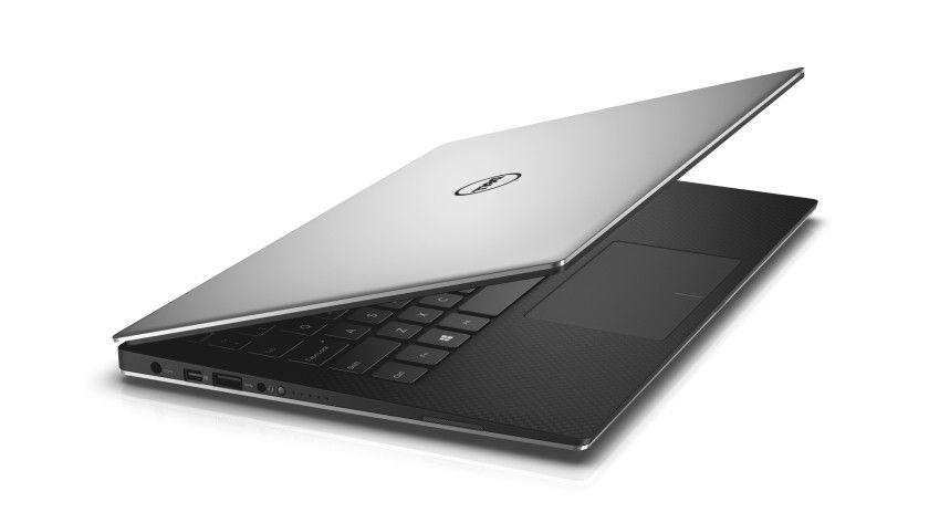 Das Dell XPS 13 sitzt in einem Unibody-Aluminium-Gehäuse