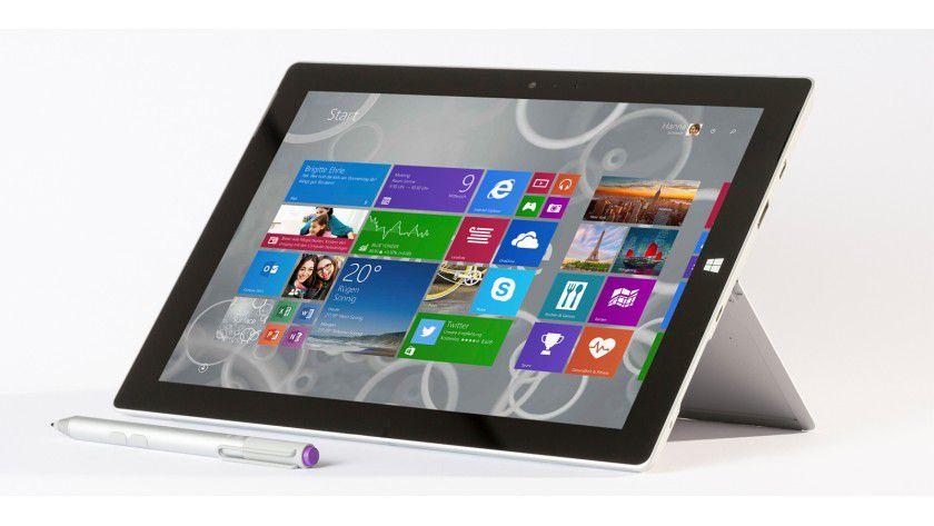 Das Surface 3 besitzt ein 10,2-Zoll-Display mit Full-HD-Auflösung