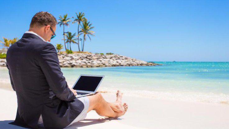 Arbeiten wann und wo man will. Das geht zwar nicht immer - aber immer öfter.