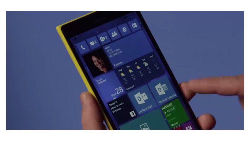 Di Vorschauversion von Windows 10 for Phones erhält ab sofort ein neues Update