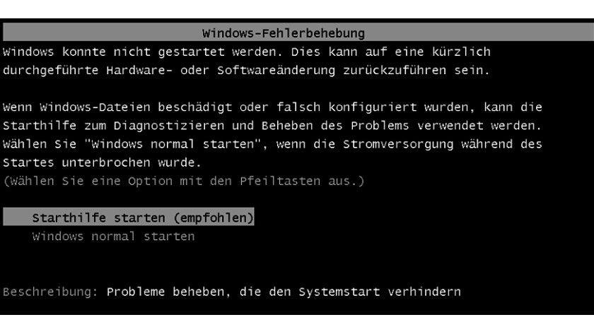 Wenn Sie den Schutzmodus von Bhorm ausschalten, meckert Windows beim ersten Neustart, denn das System konnte wegen Bhorm nicht merken, dass es korrekt heruntergefahren wurde.