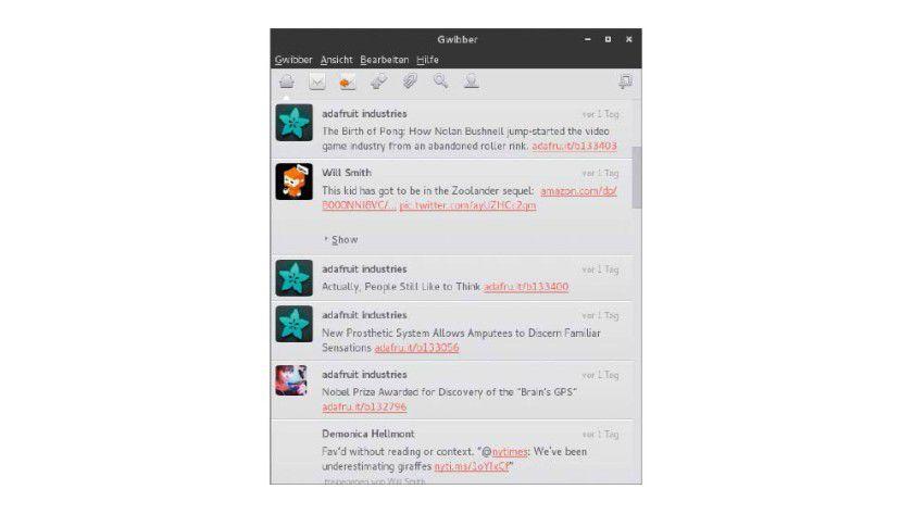 Bald hat es sich ausgegwibbert: Gwibber 3.6 ist die letzte Version des inzwischen eingestellten Twitter-Clients für Gnome. Dessen Entwickler machen mit der Friends App weiter.
