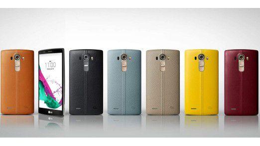LG G4: Neues Top-Android-Smartphone mit Leder-Rücken