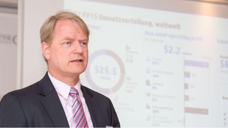 """Marc Fischer, Vice President Enterprise Group Hardware, HP Deutschland: """"Wir müssen beweisen, dass wir das hinbekommen."""""""