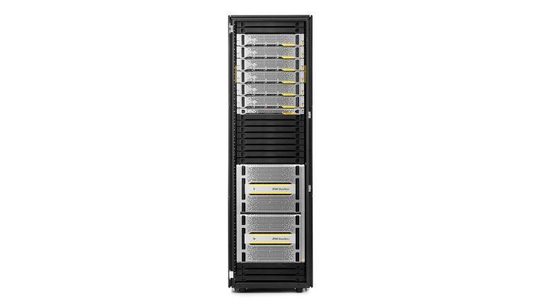 Die All-Flash-Arrays der 3Par StoreServ 20000-Serie könne bis zu 15 PB pro System verwalten.