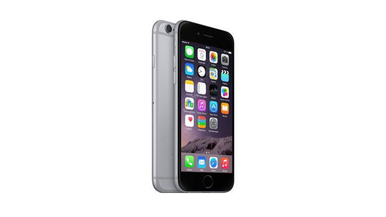 Ein Apple iPhone 6 wartet auf neue Empfänger der ChannelPartner-Newsletter.